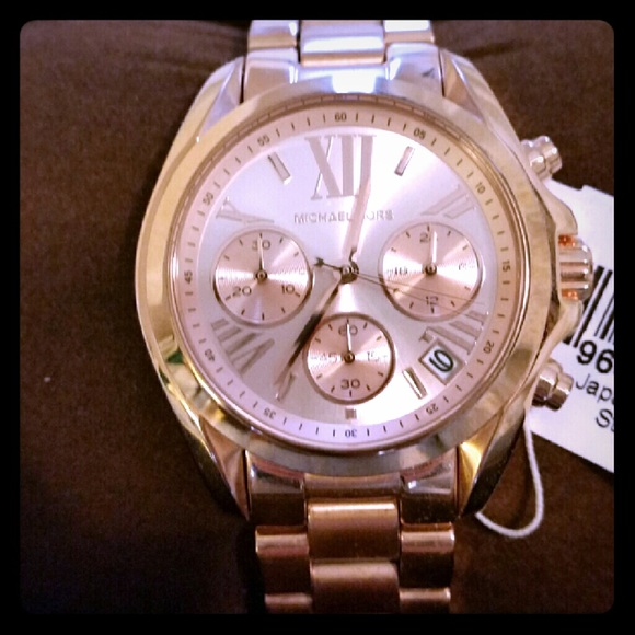 3a707864747b Michael Kors BRADSHAW MK5799 Rose-Gold Tone Watch